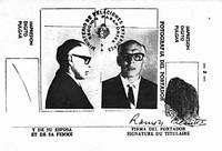 Боливийский паспорт Че