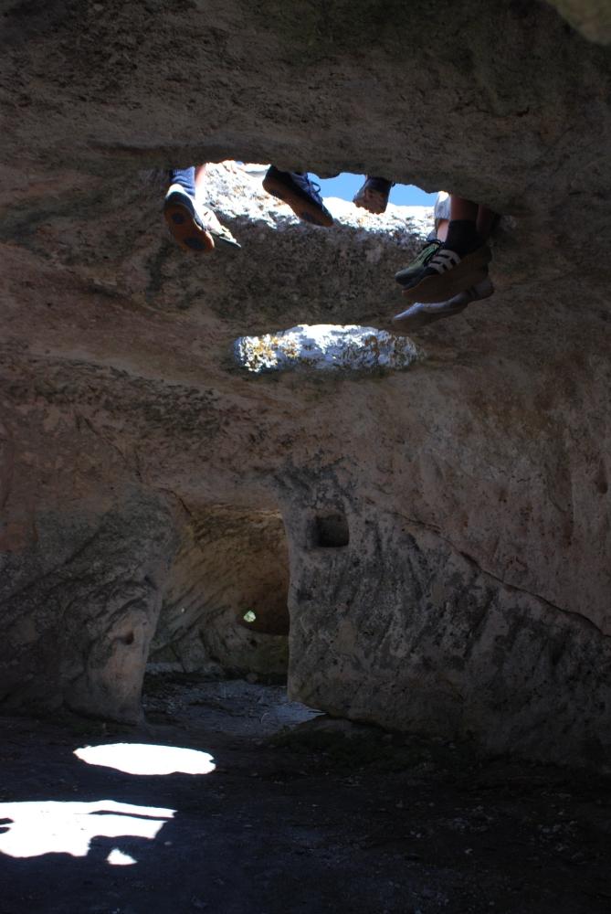 Эски-Кермен изнутри