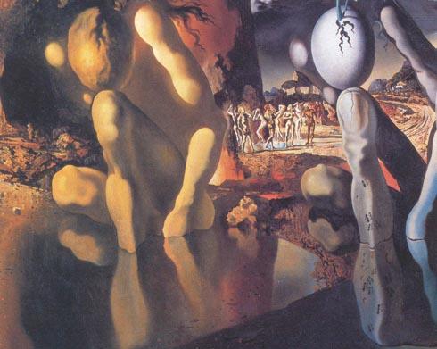 Метаморфозы Нарцисса (1936-37). Галерея Тейт, Лондон