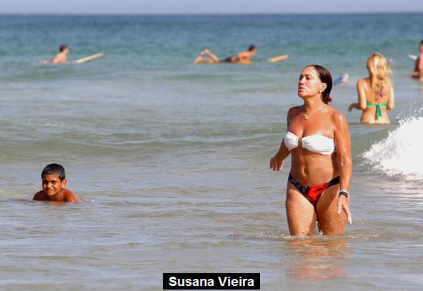 Бразильские бабушки на пляже
