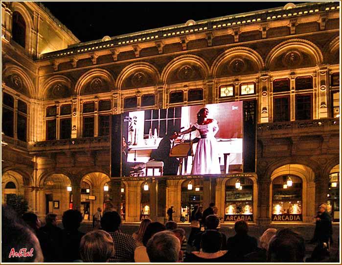 Венская Опера. Вечерний показ он-лайн.