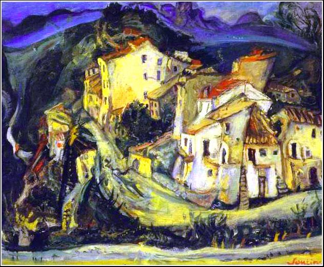 Домá в Кань-сюр-Мер, 1925