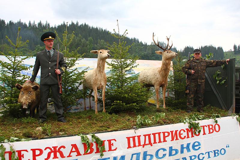 Свято виходу вівчарів на полонину в Путилі в 2010 р.