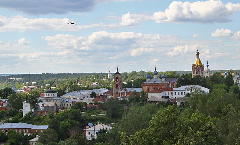 Панорама Касімова з мінарету