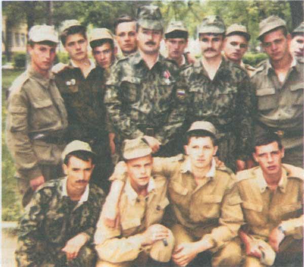 Майкопцы в зоне Осетино-Ингушского конфликта. 1993 год