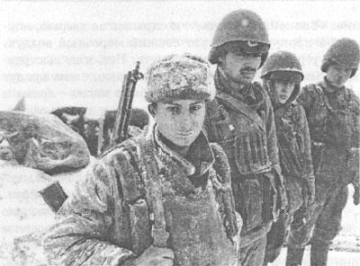 Декабрь 94-го. Бойцы 131 омсбр