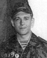 механик-водитель танка №437 рядовой Александр Иванович Шулындин