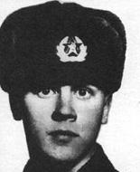 наводчик-оператор танка №437 рядовой Александр Анатольевич Пономарёв