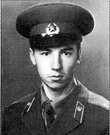 механик-водитель рядовой тб 6 гв. тп Евгений Германович Ефимов