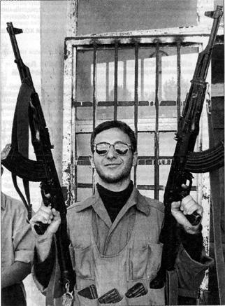 Боевик в Грозном.  Сентябрь 1994 года
