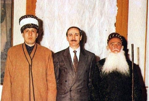 На приёме у Дудаева