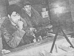 Чеченский пост в ДГБ. Осень 1991.