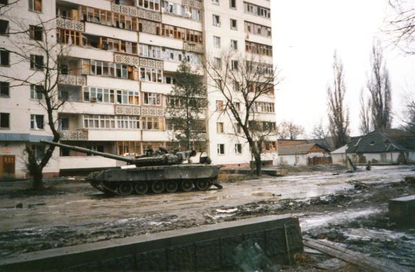 Танк на ул. Субботников