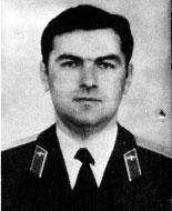 командир экипажа майор Александр Анатольевич Гасан (в/ч 3686)