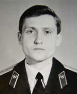 командир роты 57 пон ВВ капитан Андрей Дмитриевич Романов