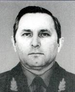 начальник ГУОП МВД генерал-майор милиции Виктор Васильевич Воробьёв