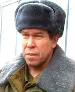 """Командующий группировкой """"Север"""" генерал-лейтенант Л.Я. Рохлин"""
