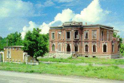 Резиденция Звиада Гамсахурдиа
