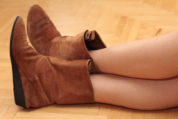 можно ли носить замшевую обувь в сырую погоду высокой
