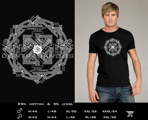 CONTRABANDOS - футболка CYBERAUM