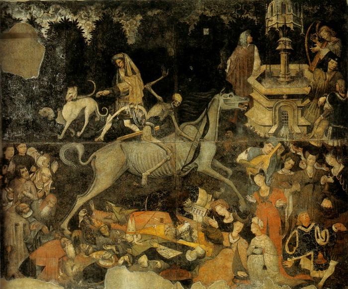 """""""Триумф Смерти"""",Палермо,1446 г."""