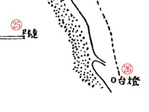 「ペトロパウロウスク」之圖. Карта Петропавловска 2(9). Надписи 25–26
