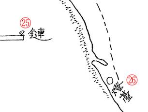 ペトロパブロスク之圖. Карта Петропавловска 1(9). Надписи 25–26