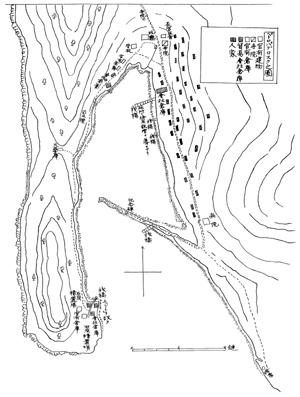 ペトロパブロスク之圖. Карта Петропавловска
