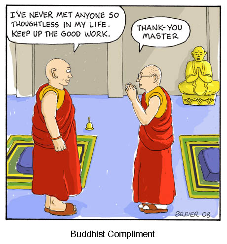 Scott Breier. Buddhist Compliment