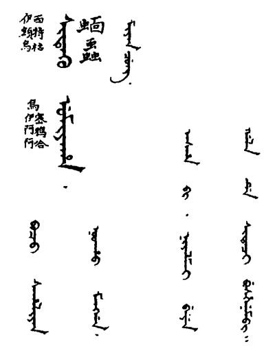御製增訂清文鑑 (四庫全書版) 32-59b