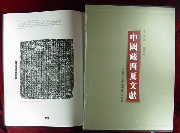 《中國藏西夏文獻》(第五編)第18册:金石編