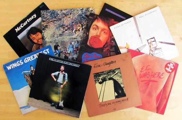 McCartney, Clapton