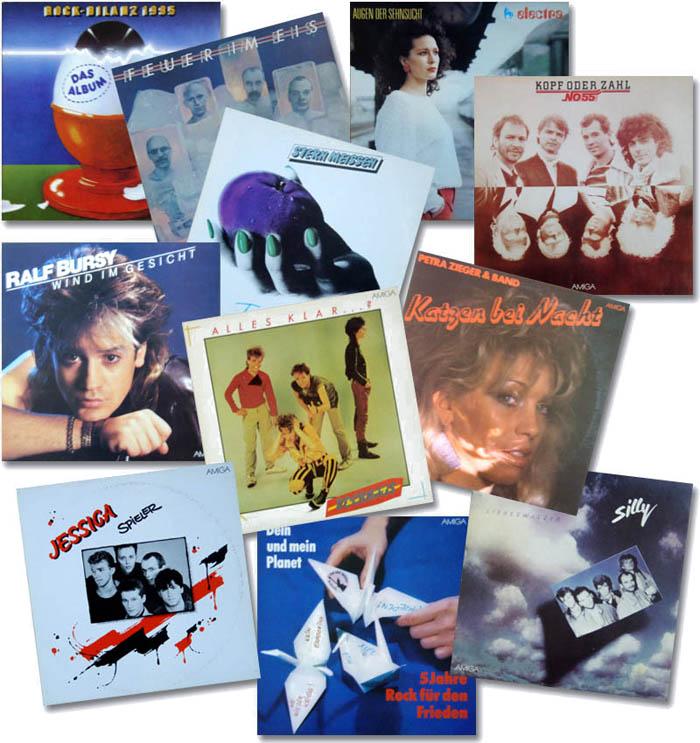Пластинки ГДР-х групп
