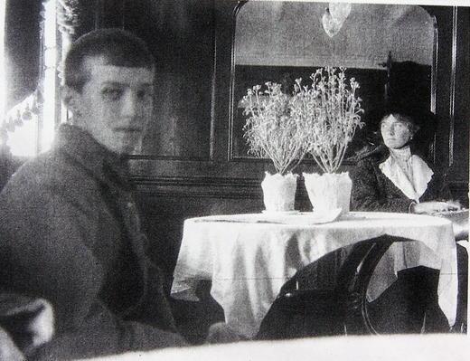 """Тогда """" Последняя фотография цесаревича Алексея, 1918 год"""