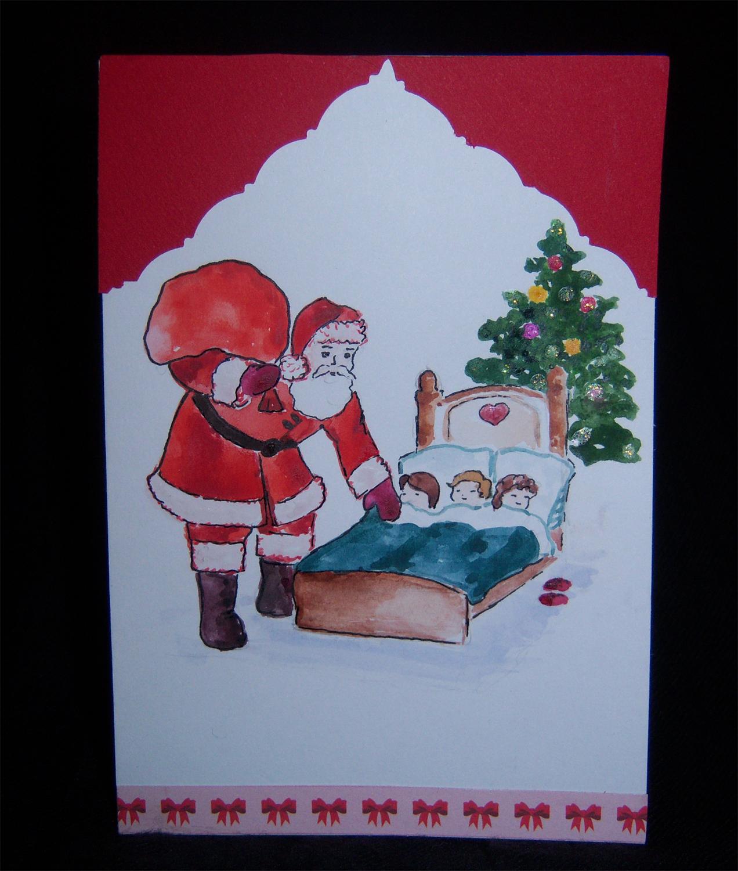 Микки маус, конкурс открытка на рождество