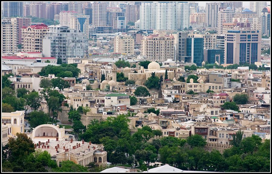 Новый и старый Баку