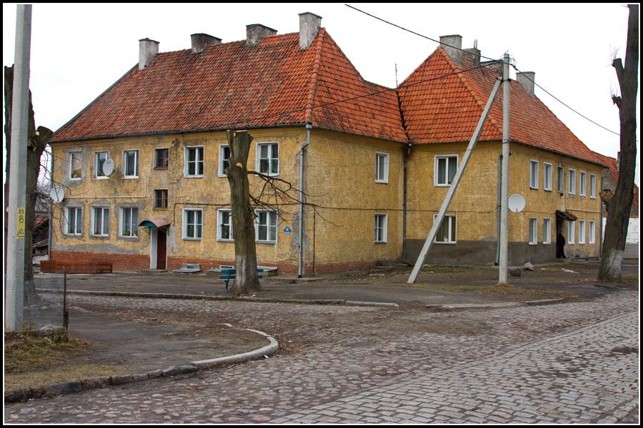 Прусские дома в Багратионовске