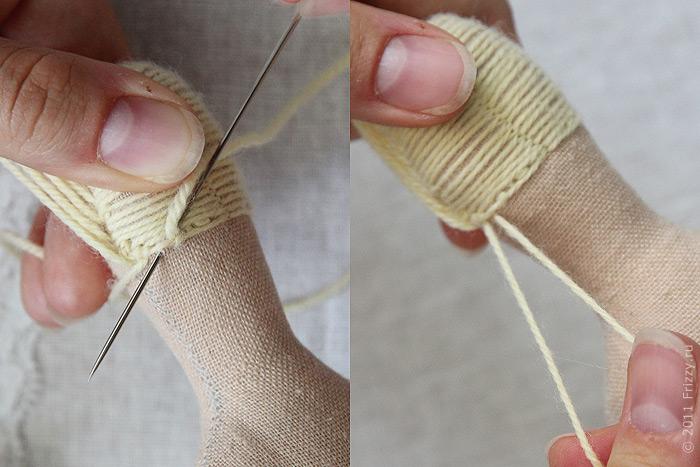 как сделать прическу кукле из ниток сделать дешевое