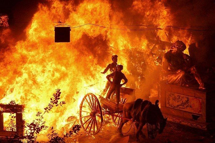 Feuer und Flamme für Valencia