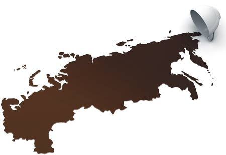 Россия такая загадочная