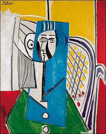 Pablo Picasso. Sylvette.