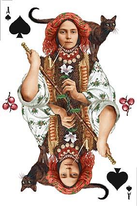 Розумному — голову, дурневі — ноги, а азартному — колоду карт.