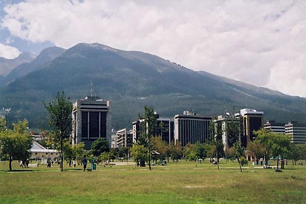 Парк Ла Каролина и Сити