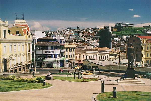 Старый город Кито