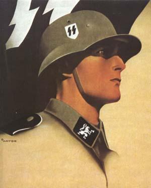 Вернер Гольдберг на плакате