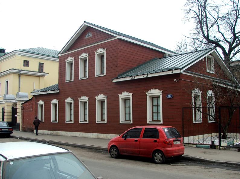 Малая Ордынка, 18 (фото найдено в интернете)