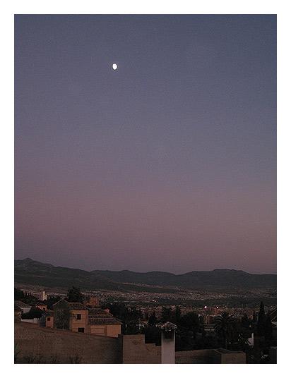 Лунный вечер в Гранаде