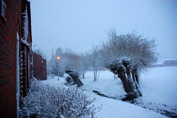 Снег на Бруке
