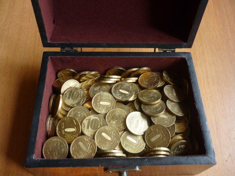 шкатулка монет