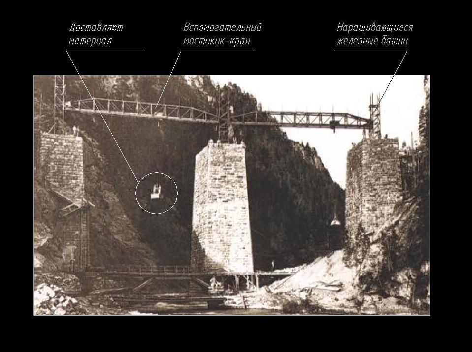Башни и вспомогательные мостики